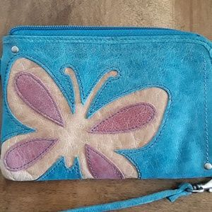 Fossil Bags - Fossil Leather Butterfly Wristlet